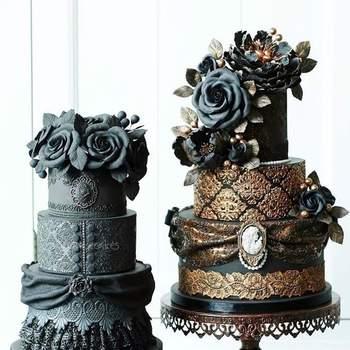20 Wedding Cakes parfaits pour Halloween !