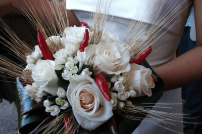Succulents and Chilies: Alternative Bridal Bouquets