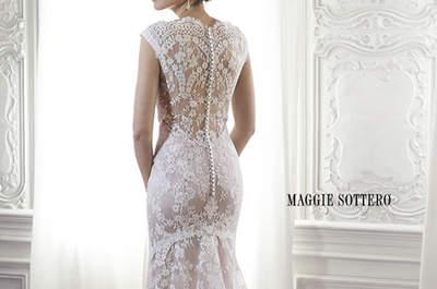 Ontdek Maggie Sottero trouwjurken van 2015