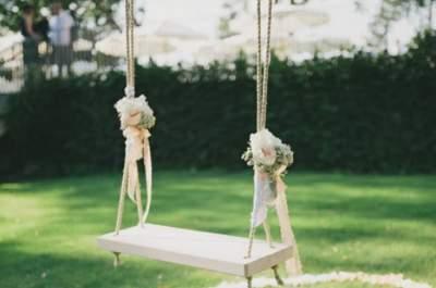 ¡Colúmpiate al amor!, un gran detalle para la decoración en tu matrimonio