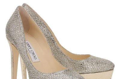 Sapatos de noiva Jimmy Choo 2016: luxo aos seus pés