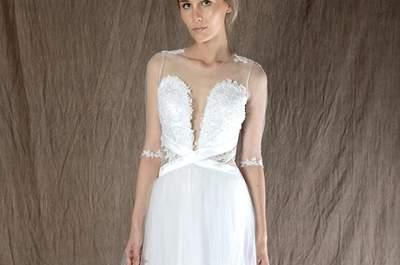 39 vestidos de novia escote corazón 2017. ¡Diseños extraordinarios!