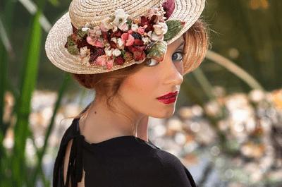 Canotier: el complemento ideal para invitadas de boda