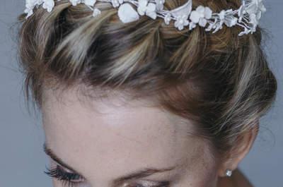 Magisches Brautstyling 2016 – La Chia Headpieces sorgen für den letzten Schliff!
