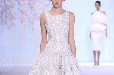 Noivas Alta Costura: 27 vestidos de sonho que abrilhantaram a Semana da Moda de Paris