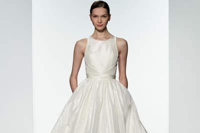 Amsale 2016: Vestidos de novia perfectos para una mujer romántica