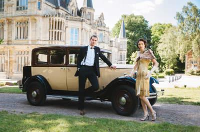 ¿Has pensado en hacer una boda estilo Gran Gatsby? Inspírate en ésta
