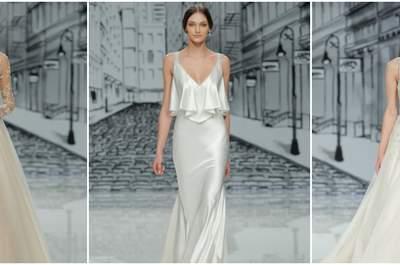 Vestidos de noiva Justin Alexander 2017: silhuetas clássicas com acabamentos modernos e elegantes