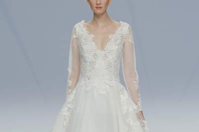 Descubre los vestidos de novia Cymbeline 2017: ¡elegancia clásica!