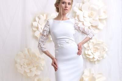 Robes de mariée Faith Cauvain 2017 : des créations douces pour une mariée ultra féminine