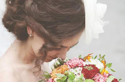 Ramos de novia para primavera verano 2015: ¡llena tu boda de color!