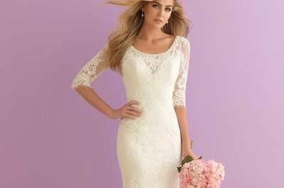 3 looks para una novia de invierno, ¿cuál prefieres?