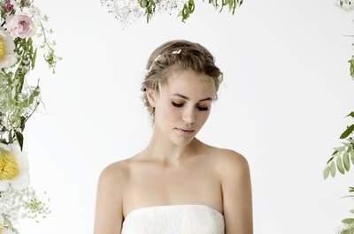 Zarte Brautmode für die verspielte Frau: kisui stellt die OUI Kollektion 2016 vor!