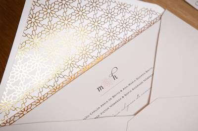 Convites de casamento clássicos e atemporais: sempre na moda!