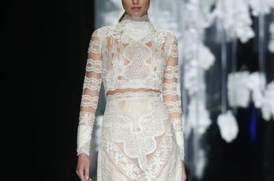 Les plus belles robes de mariée à manches longues qui vous feront rêver en 2016