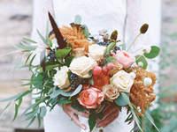 Herbstliche Brautsträuße
