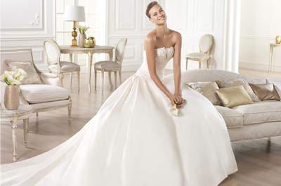 50 vestidos de novia para 2015 que querrás lucir
