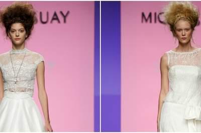 Miquel Suay 2016: suknie ślubne, które dla nikogo nie pozostaną obojętne! Będziesz wyglądać zjawiskowo!