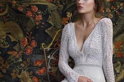 67 geniales vestidos de novia de manga larga 2017. ¡Diseños exclusivos!