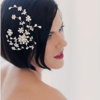 Penteados de noiva para cabelos curtos 2016: lindos, modernos e estilosos!