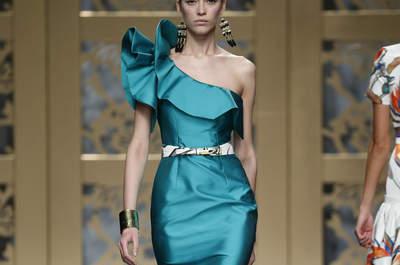 Invitadas 2015 vestidos de fiesta verdes - Carla ruiz valencia ...