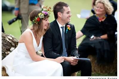 40 coronas de flores excepcionales para novias chic