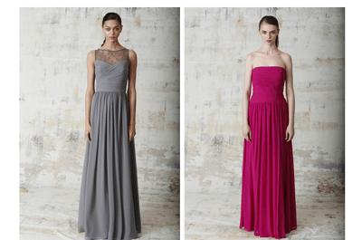 Hermosos vestidos de fiesta primavera 2015 de Monique Lhuillier