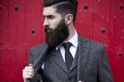 ¿Que tu futuro marido lleve barba al altar?¡Por supuesto!