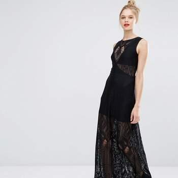 Vestidos de festa negros para 2017: com um lindo vestido preto, nunca me comprometo!