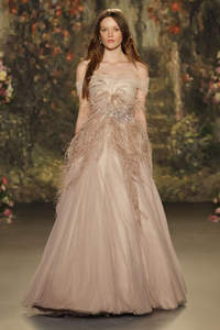 Blush Pink Wedding Dress 2016