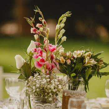 Centros de mesa 2017. ¡Las mejores tendencias para decorar tus banquetes!