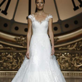 Vestidos de novia con hombros caídos 2016: La mejor selección para tu look nupcial