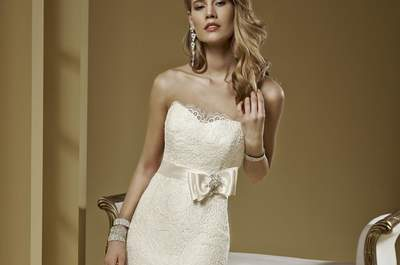 Bring out your sexy side with a mermaid cut bridal gown