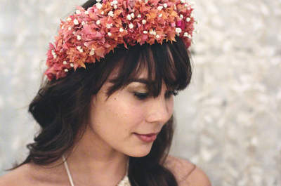 Coiffures de mariée à frange 2017 : les plus jolies créations!
