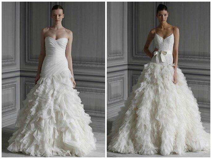 Vestidos de novia, colección 2012 de Monique Lhuillier