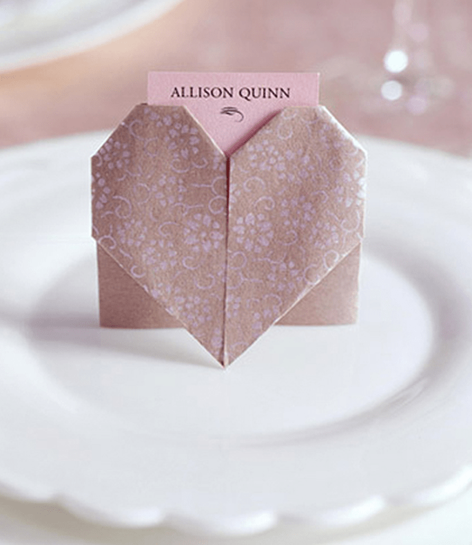Inviti fai da te in origami
