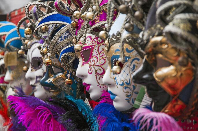 Si vas a principio de año, puede que te toque vivir el Carnaval de Venecia - Shutterstock