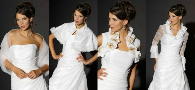 Kollektion von Trés Chic 2012 - Dress me up - Bridal Jackets & Accessories
