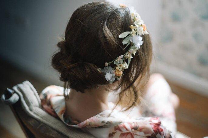 Peinado Barbareando. Foto Días de Vino y Rosas