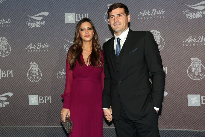 Iker Casillas y Sara Carbonero.