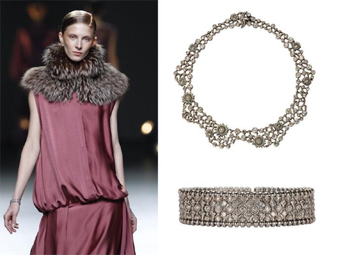 Pulseras y collares diseñados por Carrera y Carrera - Foto: image.net