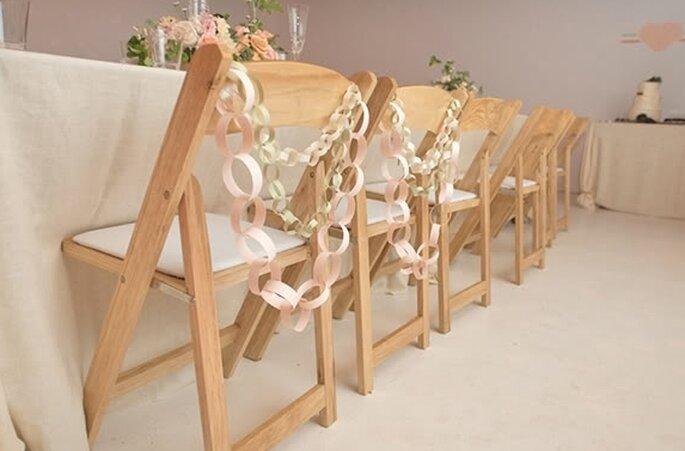 Decoraciones de papel para tu boda - Foto Charleystar Photo