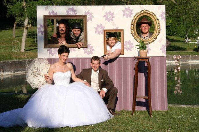 Photobooth, c'est tendance ! - Photo : Stand party