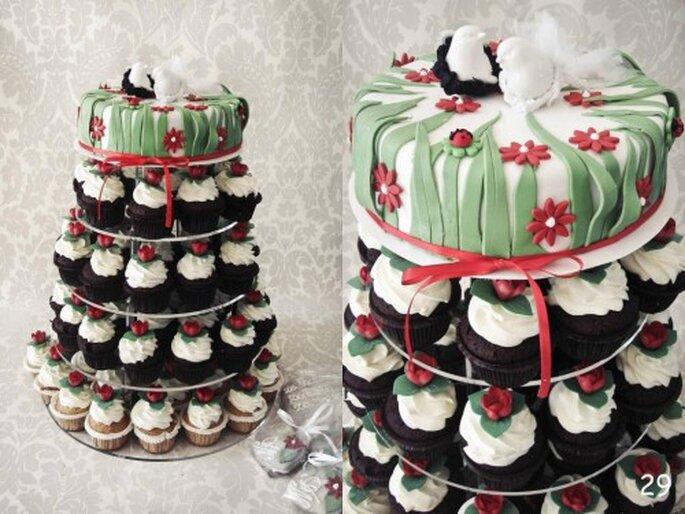 babeczki zamiast tortu na weselu