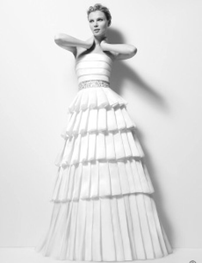 Karl Lagerfeld modelo Ximena