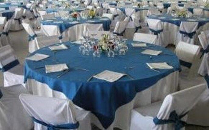 Otras opciones en decoración de mesas para tu boda