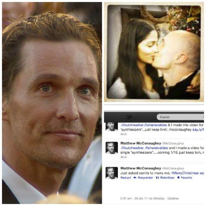 El actor Matthew McConaughey se casara en 2012 - Foto David Torcivia. Wikimedia Commons y Twitter del actor