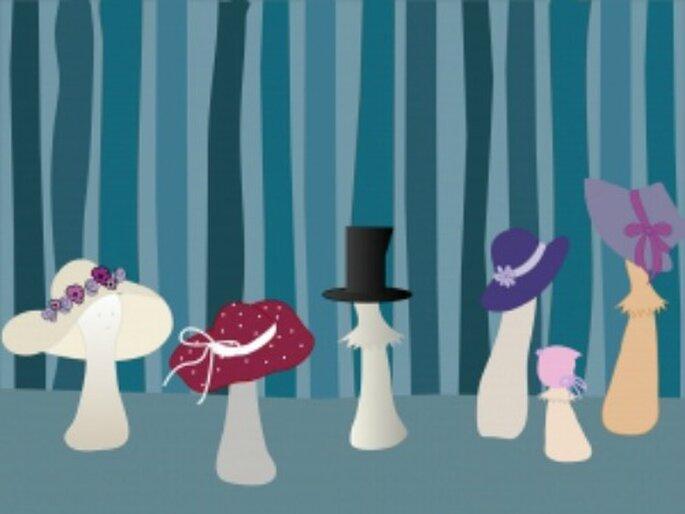 Invitée à un mariage : on mise sur le chapeau !