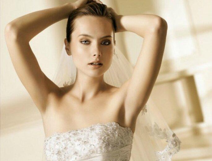 La cosa più importante nel trucco di una sposa è la luminosità della pelle. Foto www.dieta-e-bellezza.myblog.it