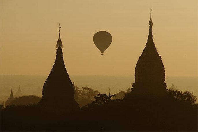 Las cúpulas de Bagan. Foto: eDreams